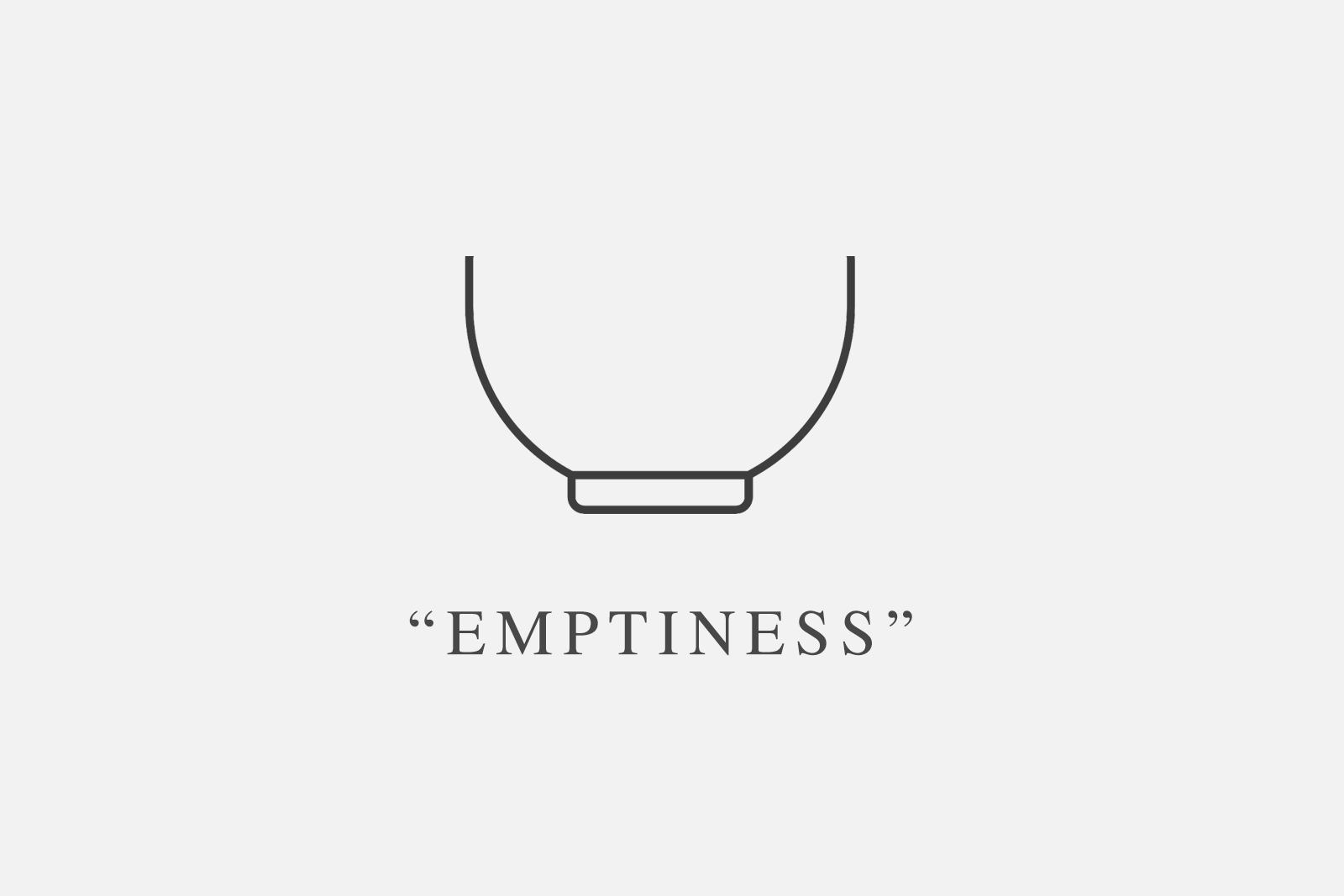 Emptiness as a vessel